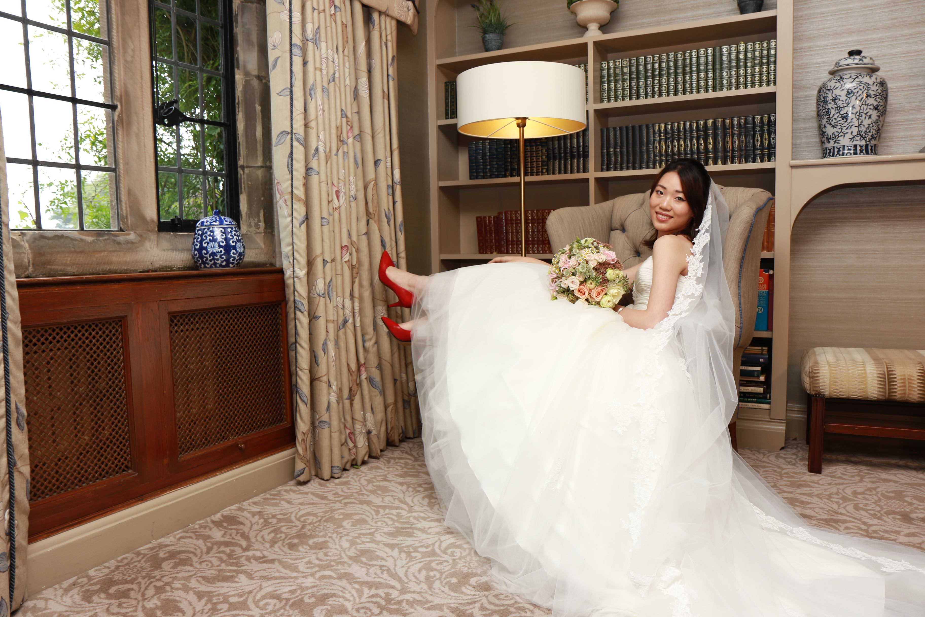 Mallory court bridal bts